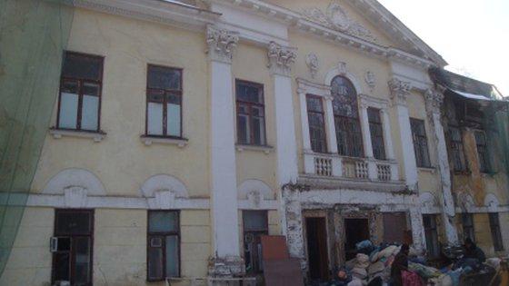 """Здание """"Спального корпуса"""" 1880 года постройки"""