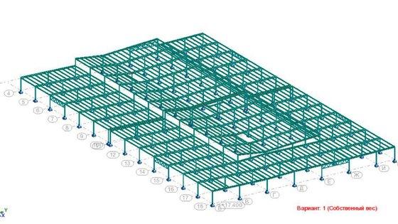 Надстроенный этаж из металлических конструкций