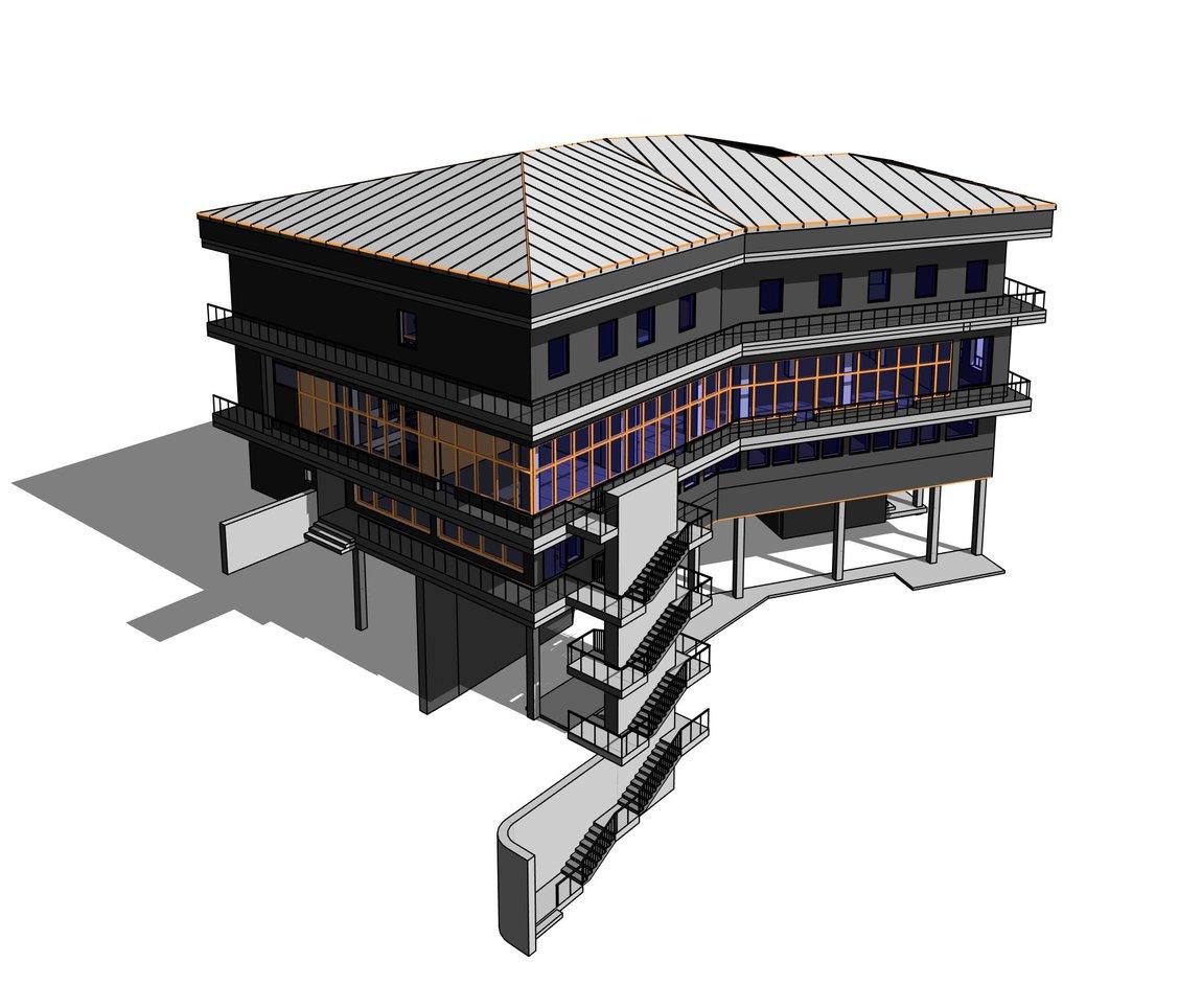 3D обмеры здания