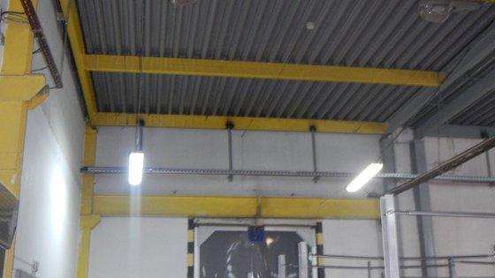 Производственная часть здания, предназначенная для хранения сырья и упаковки продукции
