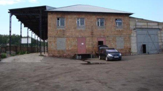 Строительные конструкции административно-складского здания.