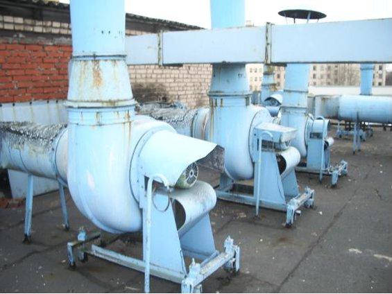 Обследование вытяжных кислостойких вентиляторов